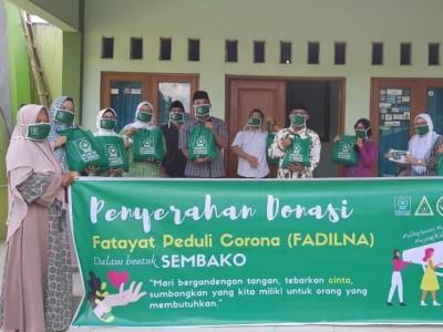 Fadilna, Gerakan Fatayat NU Cirebon Bantu Warga Terdampak Covid-19