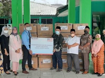 LAZISNU Jakarta Selatan Terima Hibah 20.000 Kaleng Koin NU