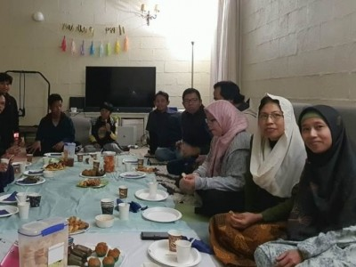 Refleksikan Pandemi, Muslim Indonesia di Canberra Kuatkan Silaturahim