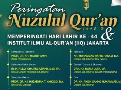 IIQ Jakarta Peringati Harlah Ke-44 Kamis 29 April