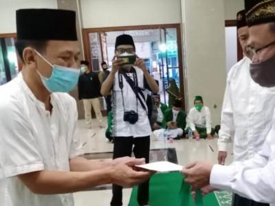 LAZISNU Jaksel Salurkan Bantuan untuk Guru Ngaji, Takmir Masjid, dan Dhuafa