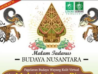 Nujuh Hari Kiai Agus Sunyoto, Lesbumi Pringsewu Gelar Tadarus Budaya Nusantara