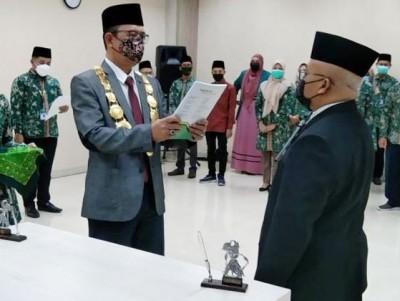Ketua PW LPTNU Jateng Jadi Rektor Baru Unwahas Semarang