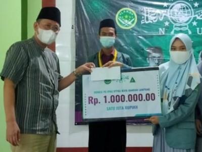 Pelajar NU Bandar Lampung Salurkan Bantuan ke Panti Asuhan