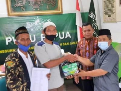 PWNU Papua Kirim Paket Lebaran ke Empat PCNU