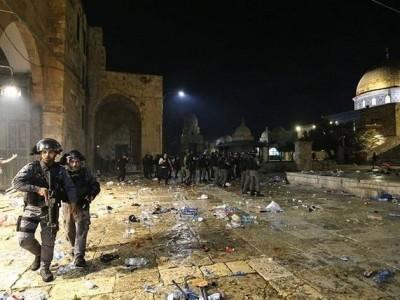 80 Orang Korban Terluka Akibat Bentrokan Polisi Israel dan Warga Palestina di Yerusalem