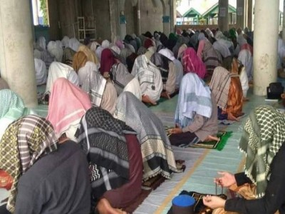 Melihat Tradisi Suluk Ramadhan di Dayah Darussalam Labuhan Haji Aceh