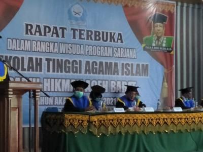 STAI Darul Hikmah Aceh Barat Sukses Gelar Wisuda Perdana