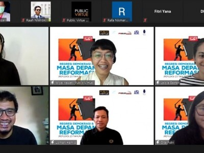 Pelemahan KPK Makin Membuat Demokrasi Indonesia Terpuruk