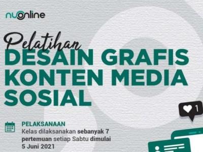 Ikuti Pelatihan Desain Grafis NU Online