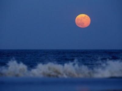 Gerhana Bulan Total, Masyarakat Pesisir Perlu Waspada Pasang Air Laut Tinggi