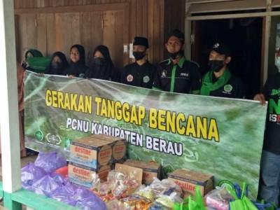 PCNU Berau Kaltim Salurkan Bantuan untuk Warga Terdampak Banjir