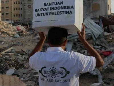 NU Care-LAZISNU Kembali Salurkan Bantuan untuk Rakyat Palestina