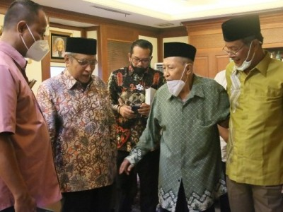 Hamzah Haz Silaturahim ke PBNU, Kiai Said: Beliau Tak Pernah Lupakan NU