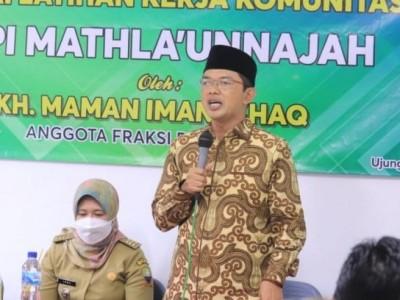 Tak Hanya Infrastruktur, Kang Maman Tekankan Pentingnya Optimalisasi Kualitas Pendidik Madrasah