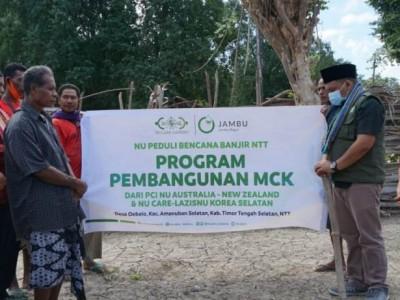 Bantuan MCK LAZISNU di NTT juga Sentuh Non-Muslim