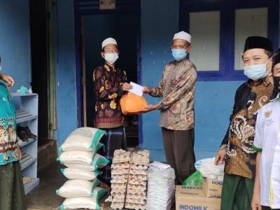 Pesantren di Pringsewu Kompak Hadapi Covid-19 dengan Gotong-royong