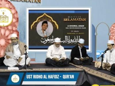 Rasika FM Semarang Tahlilan Selama 7 Hari untuk Wapimred NU Online Khairul Anam