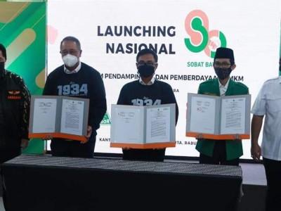Dampingi dan Berdayakan UMKM, GP Ansor Luncurkan Sobat Bayar