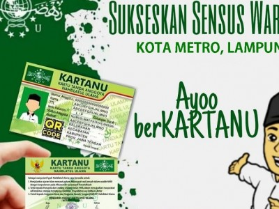PCNU Kota Metro Lampung Gelar Sensus Warga NU