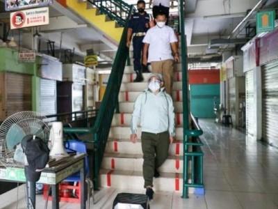 Wakil Ketua DPR Cek Kondisi Pasar dan Mal saat PPKM Darurat