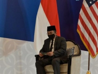 Gus Yahya, NU Supreme Council Secretary-General, Talks Global Peace in the US