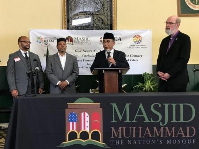 25 Tokoh Agama dan Politik Amerika Dukung Seruan Masjid Muhammad
