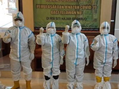 NU Jatim Bentuk Tim Relawan Pemulasaraan Jenazah Covid-19