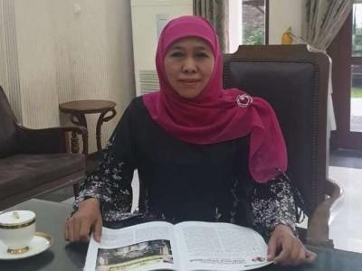Khofifah Sampaikan Muslimat NU Perlu Edukasi Masyarakat Persoalan Covid