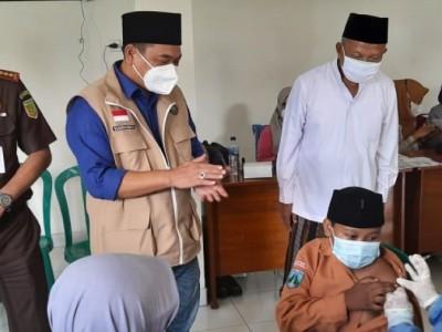 Ratusan Santri Darul Ulum Kepuhdoko Jombang Ikuti Vaksinasi Covid-19