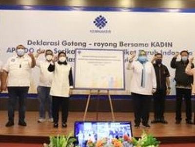 Deklarasi Gotong Royong Diyakini Menguntungkan Pekerja Selama Pandemi Covid-19