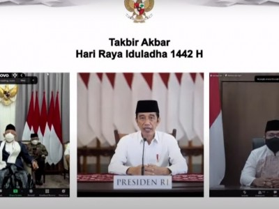 Presiden Jokowi: Idul Adha Momentum Kuatkan Solidaritas