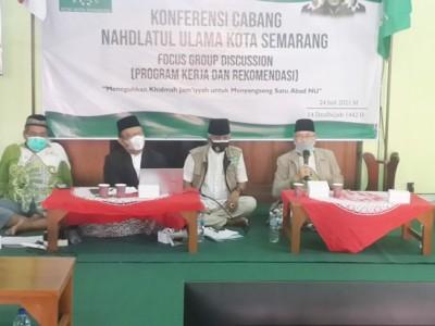 Rais NU Semarang: Kader Harus Fokus Kembangkan Organisasi