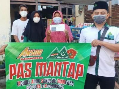 PAS MANTAP Ansor Ranting Karangrejo Banyuwangi Cegah Siswa Putus Sekolah