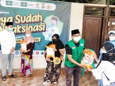 Program Vaksinasi PCNU Tangsel Peduli Sasar Pesantren Al-Tsaniyyah Serpong