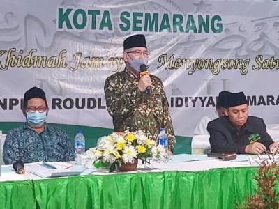 Majukan Organisasi, Rais PCNU Kota Semarang Jateng Terpilih Minta Nahdliyin Beri Masukan