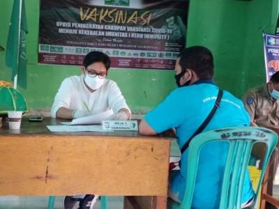 Wujudkan Kekebalan Kelompok, NU Bantaeng Sulsel Gelar Vaksinasi