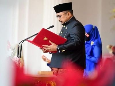 Teks Lengkap Doa Menteri Agama Yaqut C Quomas pada HUT ke-76 RI di Istana Negara