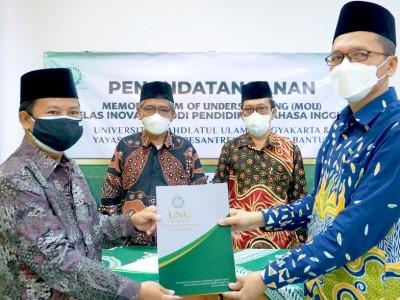UNU Yogyakarta Buka Kelas Inovasi Pendidikan Bahasa Inggris di Al-Imdad Bantul