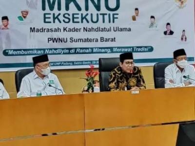 Menteri Desa Halim Iskandar Hadiri MKNU Eksekutif di Sumbar
