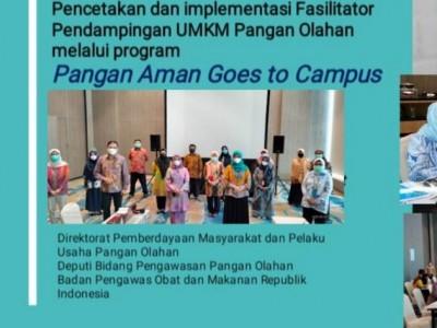Pembentukan Fasilitator Keamanan Pangan untuk UMKM melalui Pangan Aman Goes to Campus