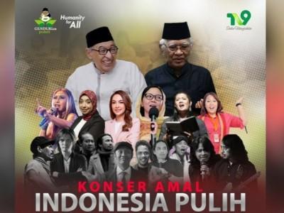 Peringati Harlah Gus Dur, Gusdurian Peduli Gelar Konser Amal 'Indonesia Pulih'