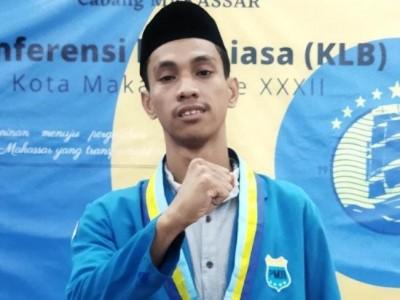 Terpilih, Ketua PMII Makassar Ingin Wujudkan Organisasi Lebih Progresif