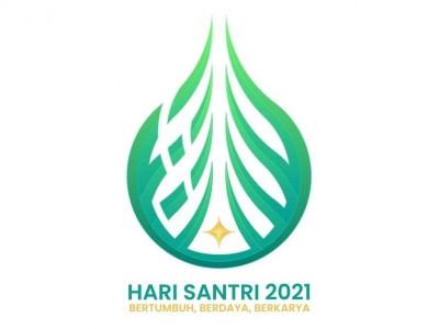 Logo Hari Santri 2021 Versi PBNU