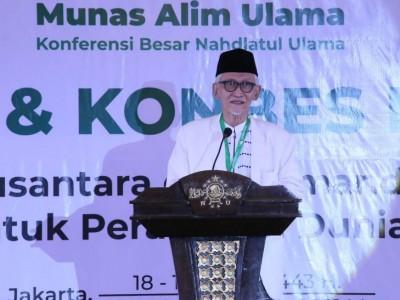 Rais Aam PBNU Berharap Muktamar Ke-34 NU Dilaksanakan pada Akhir 2021