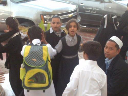 Remaja Puteri Madinah Suka Bercerita, Menolak Difoto (2)