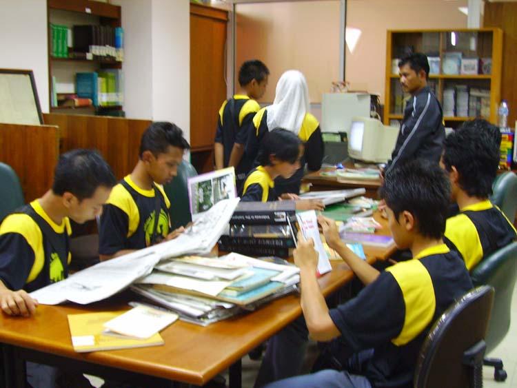 Kunjungan Siswa-siswi ke Perpustakaan PBNU